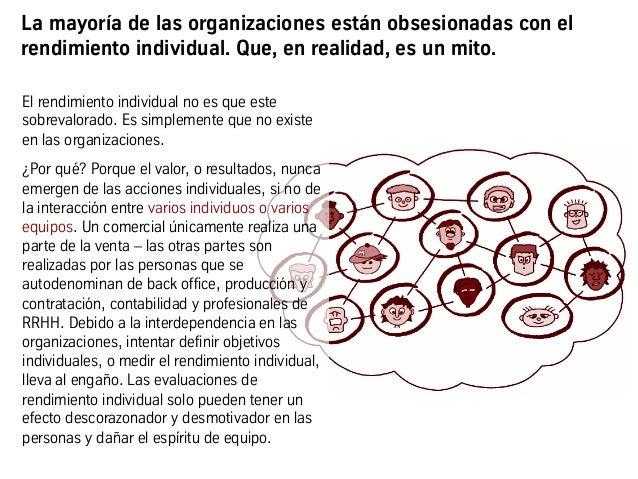 La mayoría de las organizaciones están obsesionadas con el rendimiento individual. Que, en realidad, es un mito. El rendim...
