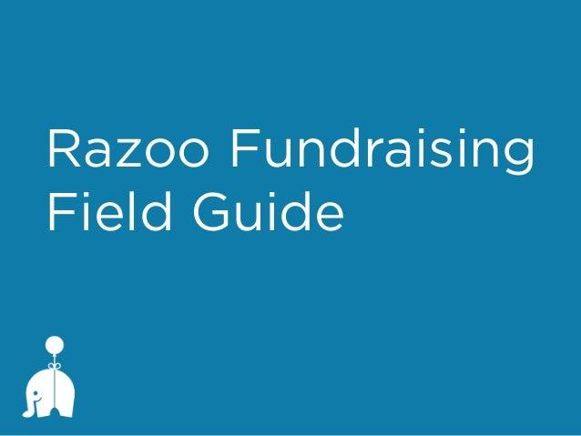 Razoo Fundraising Field Guide