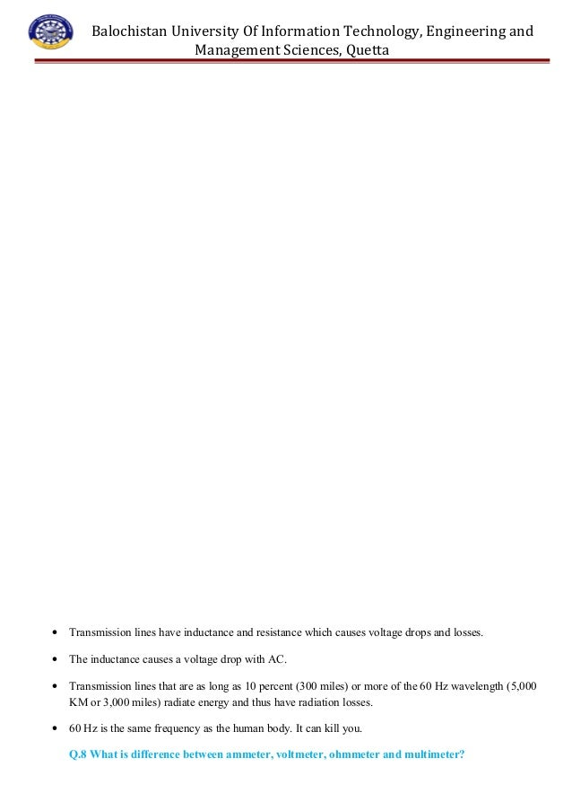 basic electrical questions and answers pdf