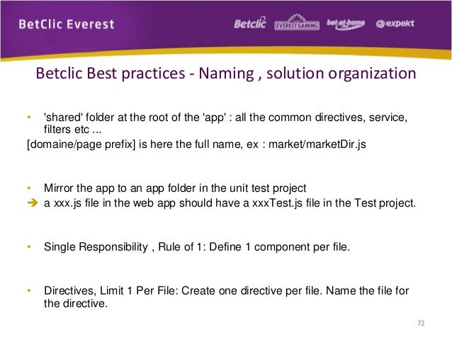 AngularJS Best Practices