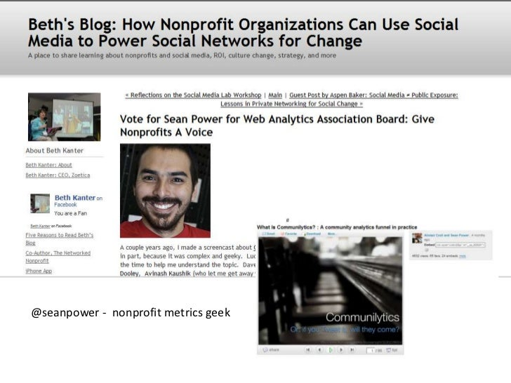 """Well, maybe not dead<br />""""What nonprofit executive director doesn't know what a page view is?""""<br />"""