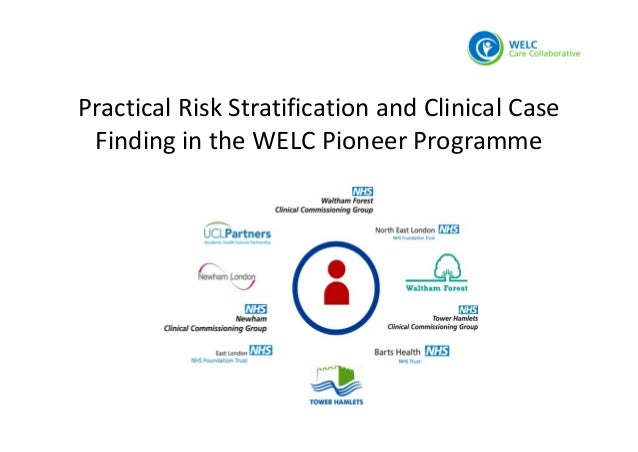 Practical Risk Stratification and Clinical Case  Finding in the WELC Pioneer Programme