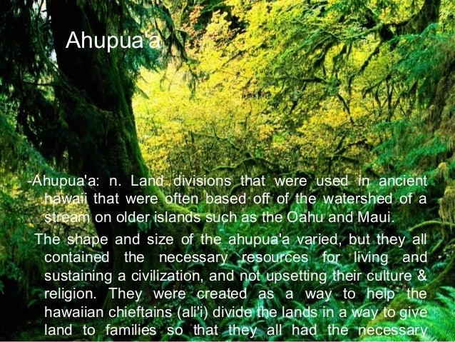 Sustainability in hawaii