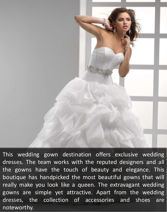 Be the centre of attraction with excusive gowns from contessa bridal