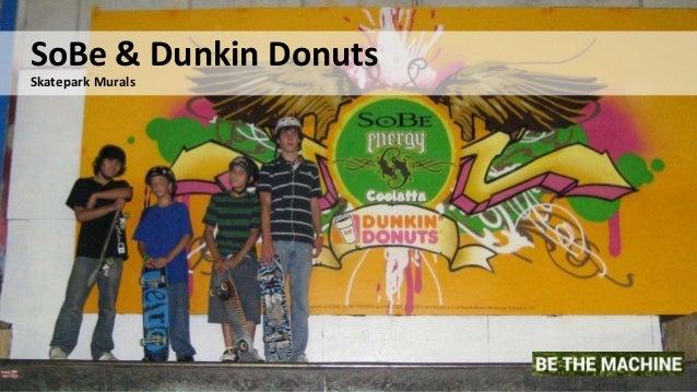 8 SoBe & Dunkin Donuts Skatepark Murals