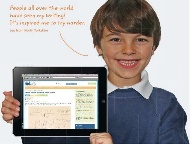 Giving Young Writers a Worldwide Audience Discover. Share. Inspire!