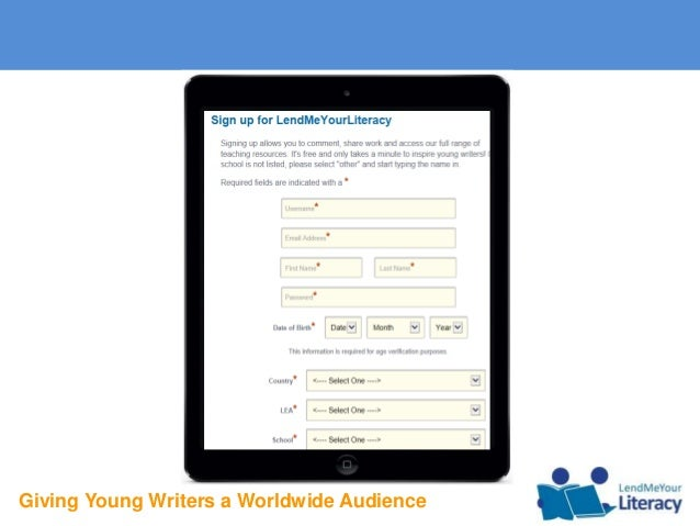 Giving Young Writers a Worldwide Audience