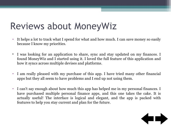 Be the wizard of your budget with money wiz