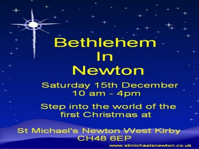 Registered visitors visiting  Bethlehem in Newton with afriendly Roman Soldier (put in         charge of the census)