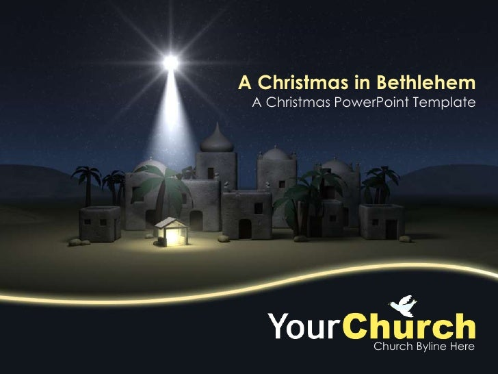 A Christmas in Bethlehem<br />A Christmas PowerPoint Template<br />