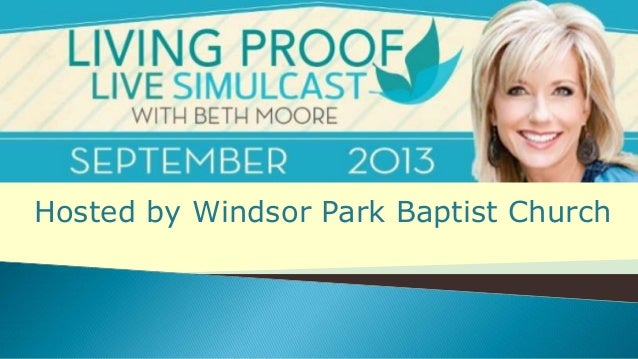 Hosted by Windsor Park Baptist Church