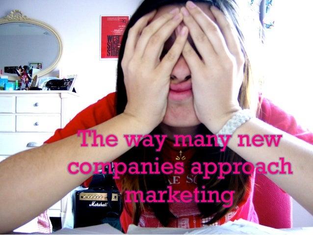 Lean Your Marketing Slide 2