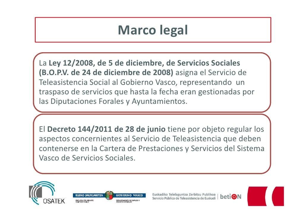 Un a o del servicio de teleasistencia del gobierno vasco - Departamento de interior del gobierno vasco ...