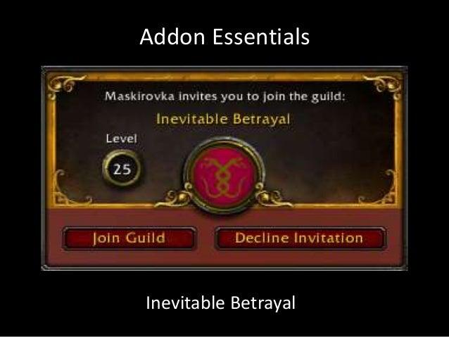 Addon EssentialsInevitable Betrayal
