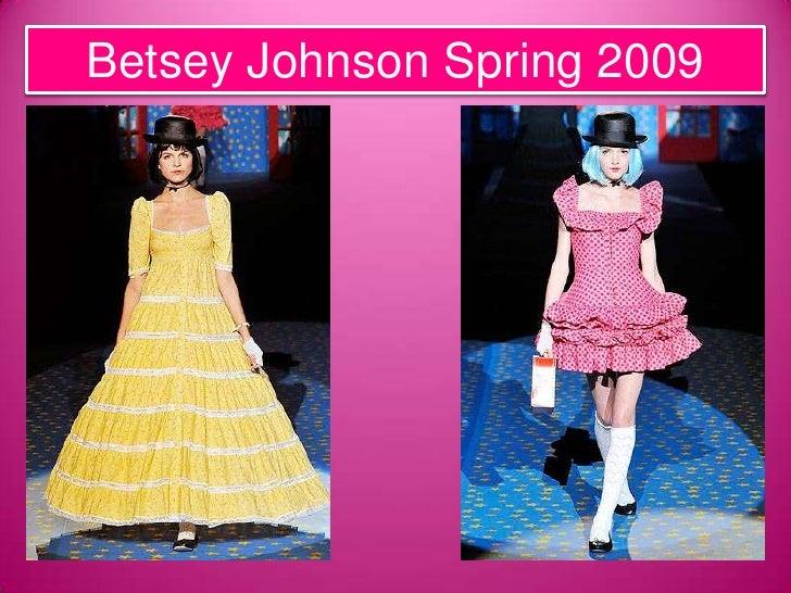 Betsey Johnson Presentation