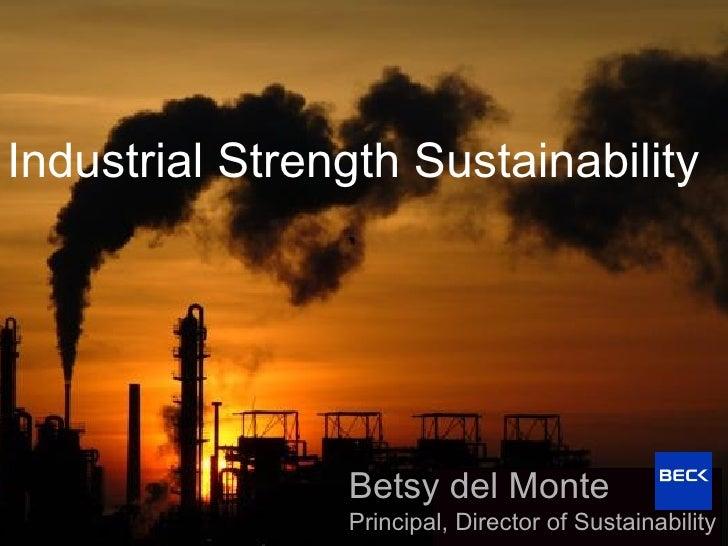 Gulf Coast Green 2010 Nasher Sculpture Center  |  Dallas, TX Industrial Strength Sustainability Betsy del Monte Principal,...