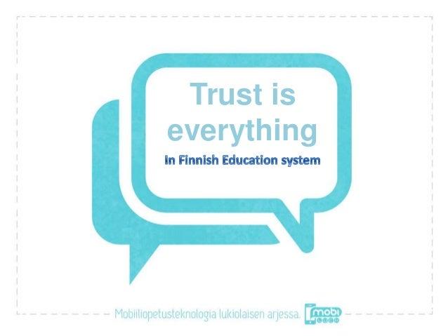 Trust iseverything