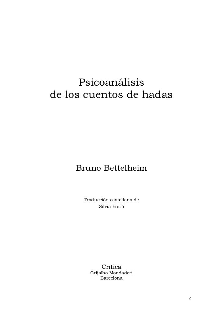 bruno bettelheim the uses of enchantment pdf