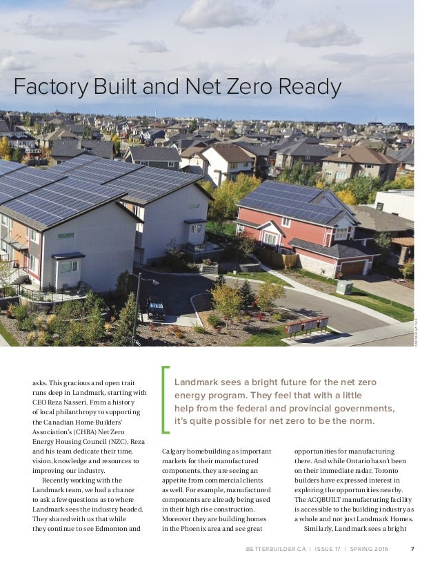 Better Builder Magazine, Issue 17 / Spring 2016