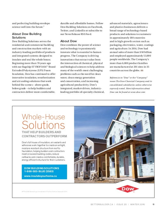 Better Builder Magazine, Issue 20 / Winter 2016 on