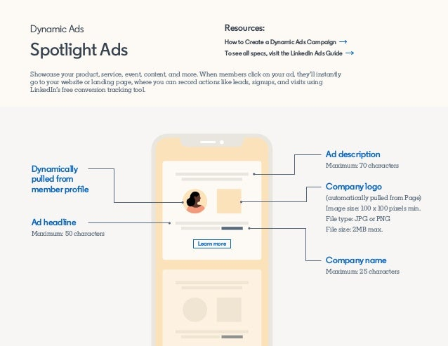 How to Create a Dynamic Ads Campaign Resources: Showcase your product, service, event, content, and more. When members cli...
