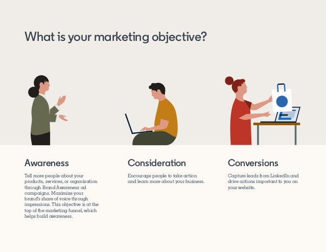 Awareness Tell more people about your products, services, or organization through Brand Awareness ad campaigns. Maximize y...