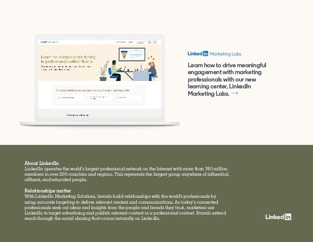 About LinkedIn LinkedIn operates the world's largest professional network on the Internet with more than 740 million membe...
