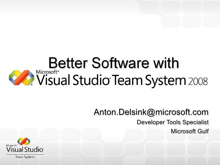 [email_address] Developer Tools Specialist Microsoft Gulf