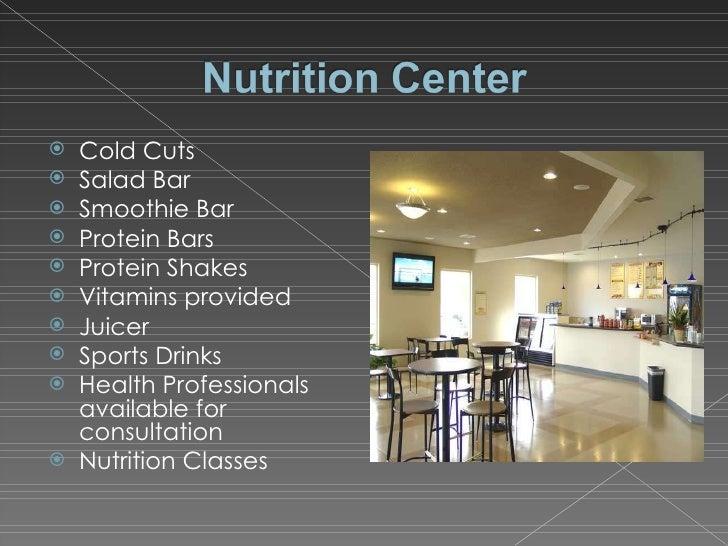 <ul><li>Cold Cuts </li></ul><ul><li>Salad Bar </li></ul><ul><li>Smoothie Bar </li></ul><ul><li>Protein Bars </li></ul><ul>...