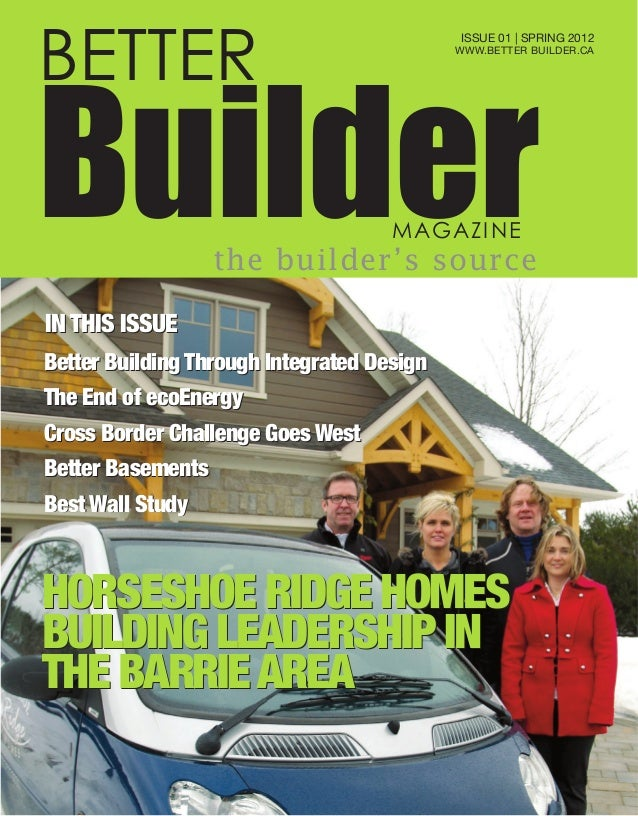 Better builder magazine for Home builder magazine
