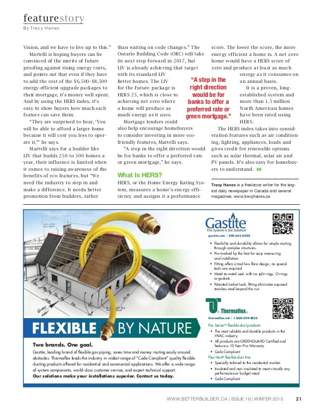Better Builder, Issue 16, Winter-2015