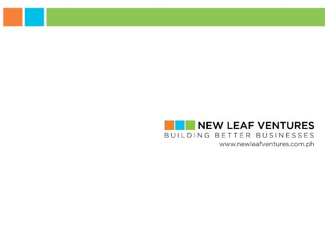 New Leaf Ventures  Technology Solutions for Building Better Businesses