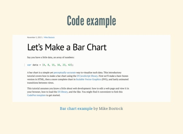 Better d3 charts with tdd