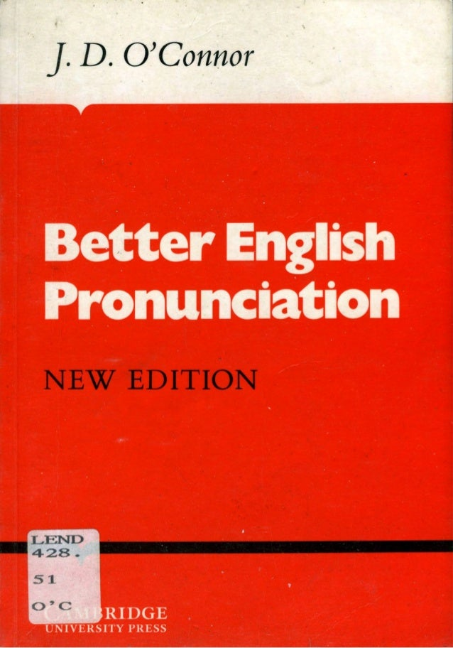Better English Pronunciation Pdf