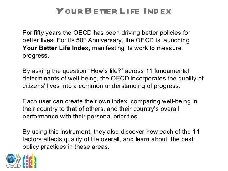 Your Better Life Index Slide 2