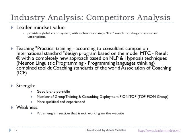 coach competitors analysis