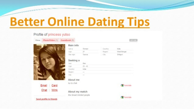 Better online dating photos 2