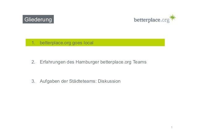 Betterplace.org stärkt sein lokales Engagement durch ehrenamtliche Botschafter Slide 2