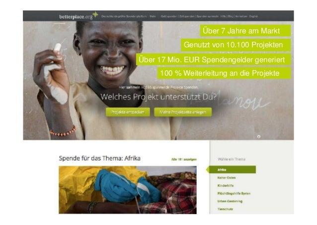 Betterplace.org stärkt sein lokales Engagement durch ehrenamtliche Botschafter Slide 3