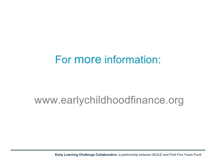 Toward Better Policy For Early Care And Education In The