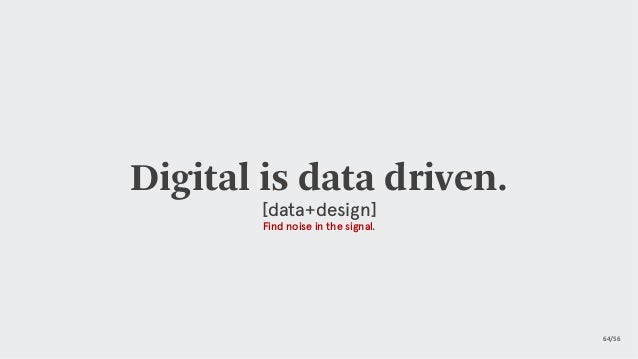 https://twitter.com/i/status/1107688160958562304 Data Purpose driven nature of data. It always starts with a problem. Yo...