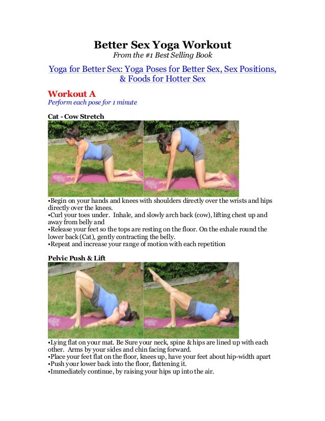 Better Sex Yoga WorkoutFrom the #1 Best Selling BookYoga for Better Sex: Yoga Poses for Better Sex, Sex Positions,& Foods ...