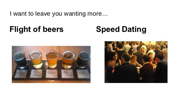 Speed dating language learning