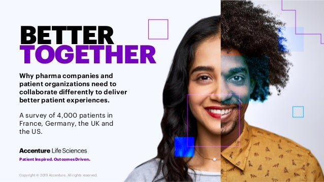 BETTER TOGETHER Why pharma companies and patient organizations need to collaborate differently to deliver better patient e...