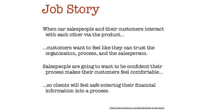 job story