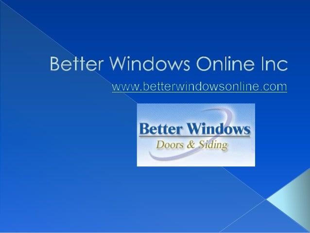 vinyl windows wood windows aluminum windows - Replacement Windows Online