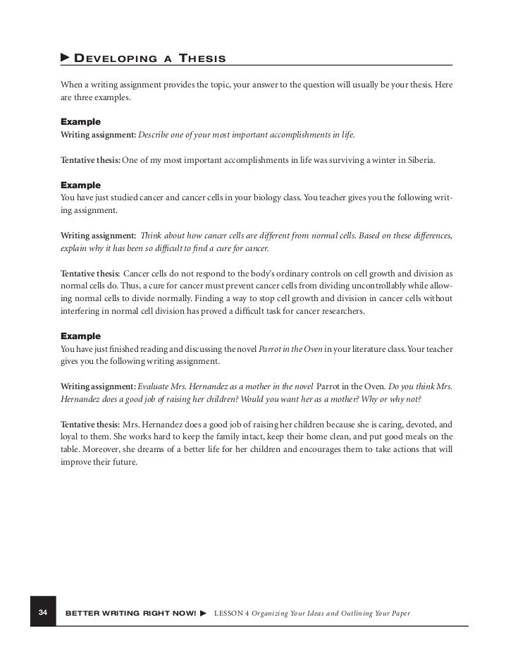 Thesis Statement Examples for Research Papers Change your password   Empire State College