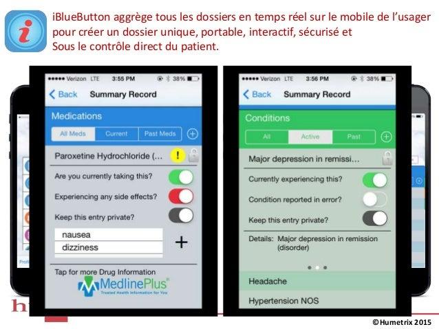 iBlueButton aggrège tous les dossiers en temps réel sur le mobile de l'usager pour créer un dossier unique, portable, inte...