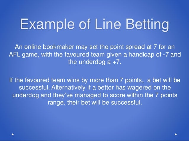 Sports betting lines explanation of medicare salernitana vs cagliari betting preview on betfair
