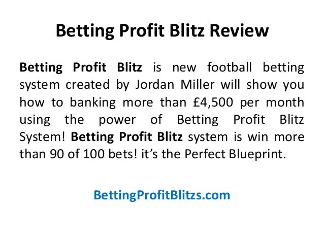 Betting profit blitz review passing of sports betting by supreme court